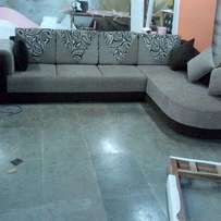 Sum L section sofa sets five seater made on order
