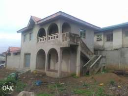 A commercial property facing the road for sale along akala express