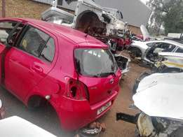 Stripping Toyota Tazz For Spare Parts