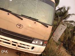 Toyota coster bus for sale, with factory fited air condition good int