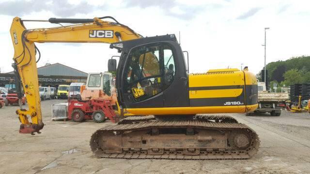 JCB Js 190 Mit Ms 10 - 2011