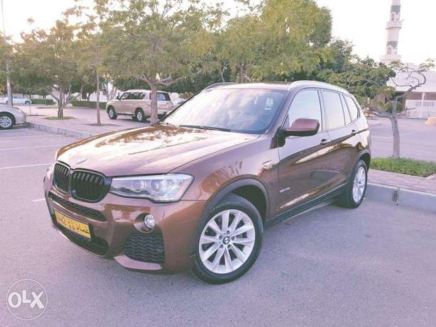 X3 model full option for sale 4-cylinder engine with a capacity of 2.0