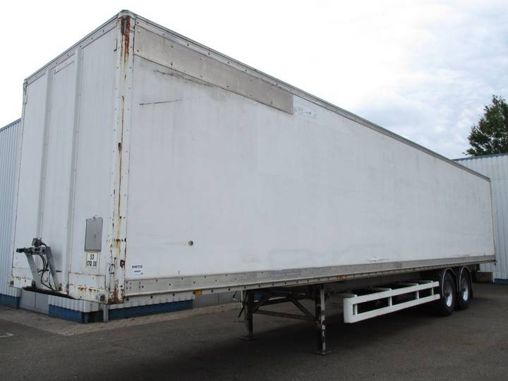Metaco VF 9-403 , Spring Suspension ,2 Axle ( BWP ) - 1994