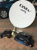 dstv with dish