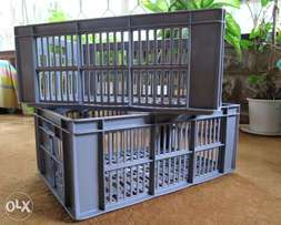 Plastic Storage Crates / Container Crate Box /Portable Containers!