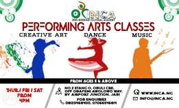Kids Dance, Arts and Music Classes (From Ages 5 & Above)