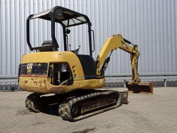 Caterpillar 302.5 Minigraver, Minibagger, Mini excavator incl 3 bakke... - 2005 - image 5