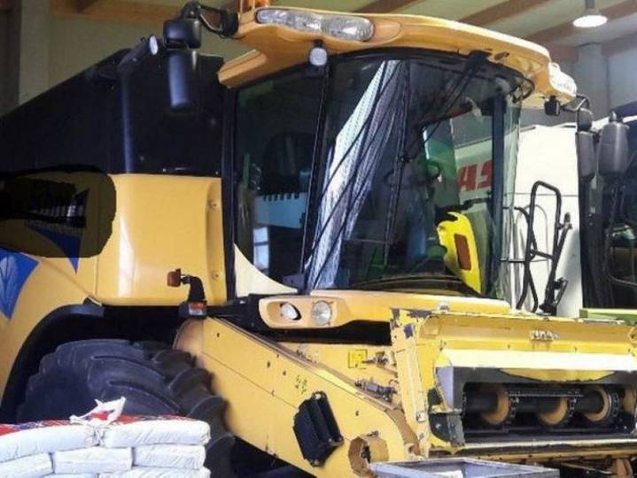 New Holland cx 860 - 2005