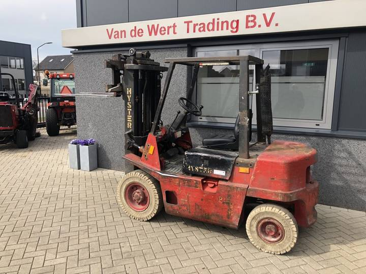 heftruck HYSTER H2.00XL triplo 425 freelift sideshift I... - 1991 - image 3