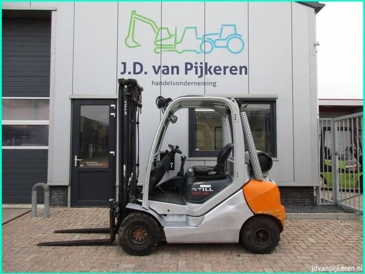 Still RX70-25T 2.5t LPG + sideshift + 4x hydrauliek - 2008