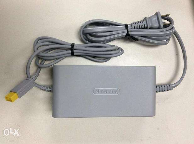 nintendo WII U power adapter plus tablet power adapter 110v
