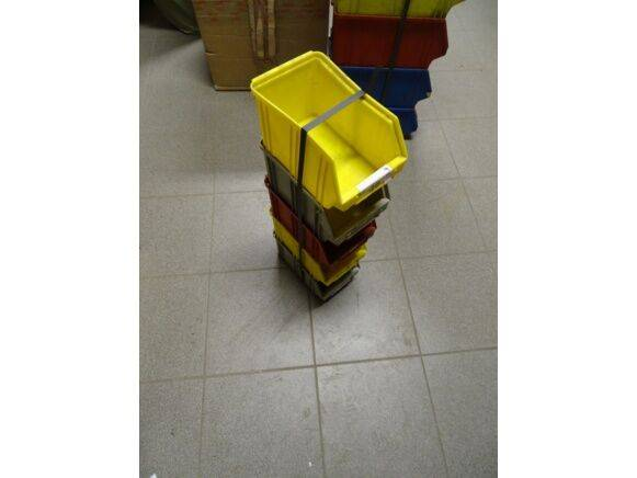 Sale 5 bins storage box for  by auction