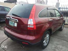 super clean 2008 model crv first body (tokunbo standard)