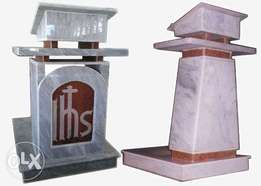 marble and garinte pulpit for churches