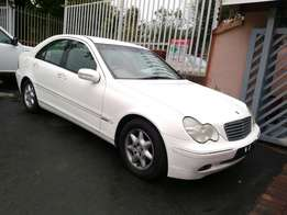 Call Haroon on 2002 Mercedes Benz C180 Kompressor Auto