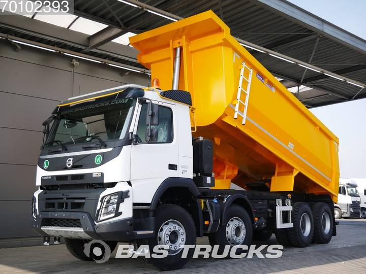 Volvo FMX 460 8X4 25m3 VEB+ Big-Axle Steelsuspension Euro 6 - 2019
