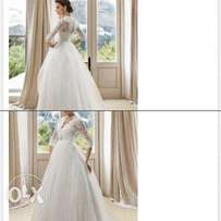 Wedding gown..