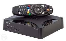 GoTV Decorder with remote and power cable