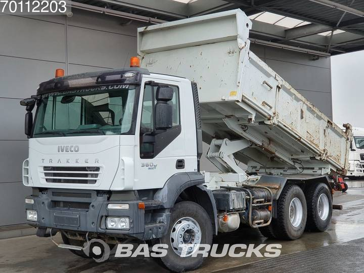 Iveco Trakker AD260T36 6X4 Manual Big-Axle 2-Seiten Euro 4 - 2006