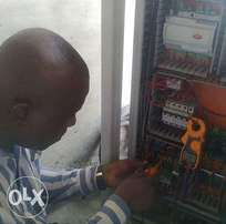 Electrical installations, Control panels & machines Maintenance