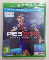 pes 2018 xbox one pro evolution soccer pes 18