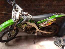 KX450F for sale 2008 model