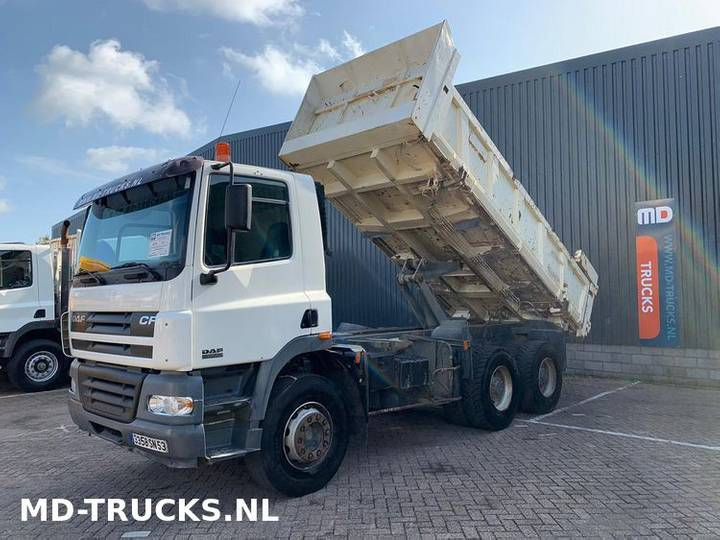 DAF CF 85 380 manual 6x4 full steel - 2003