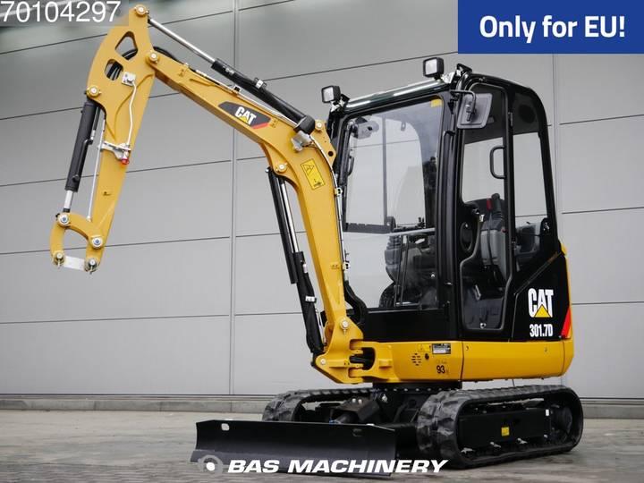 Caterpillar 301.7D CR New Unused - full warranty until 22-02-2021 - 2018