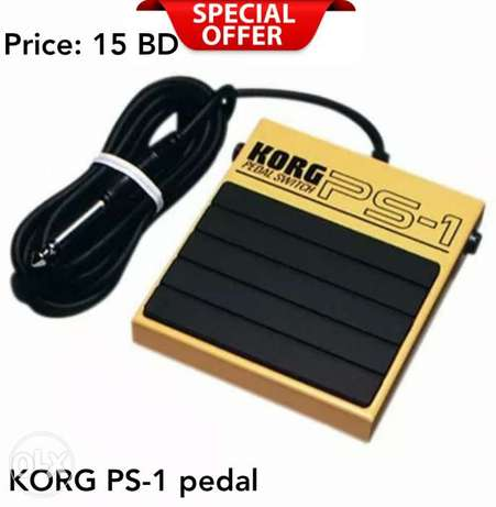 New KORG / PS-1 universal sustain pedal Switch for korg products.