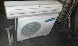 Samsung aircon and blower