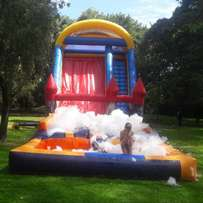 Bouncing castles for hire.