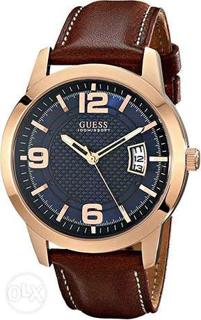 New original GUESS leather watch