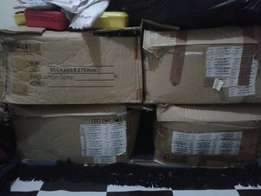 37 old laptop lcds and 4 boxes full of old laptops