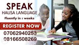 Learn How To Speak Hausa Language Fluently in 5 week
