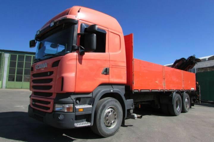 Scania R 440 6x2 - KRAN FALTBAR ATLAS 165.2 Nr.: 757 - 2010