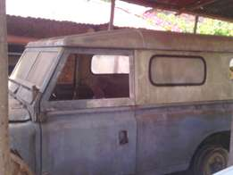 Old land rover body