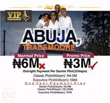 Land For Sale With C Of O At Trademoore Estate