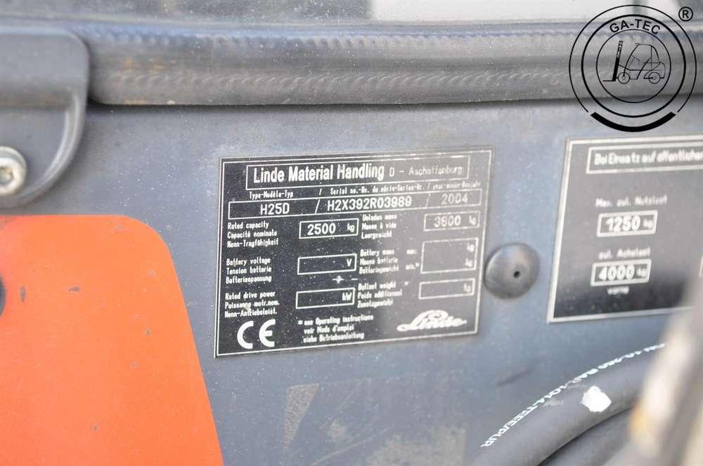 Linde H25D - 2004 - image 7