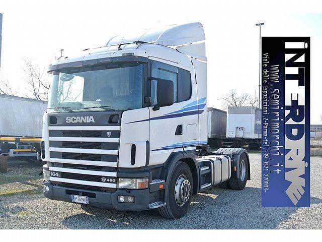 Scania 480 164L trattore stradle usato - 2001