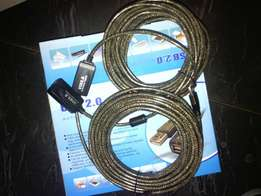 20mtrs usb extension cable
