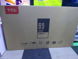 TCL 65inches ultra HD TV 4k new model 65p1us.