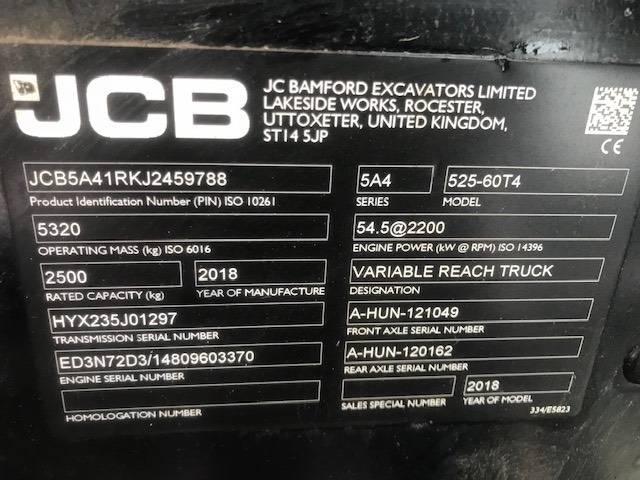 JCB 525-60 Hiviz - 2018 - image 16