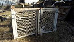 kia k2700 steel cage ideal for transporting paper or garden refuse
