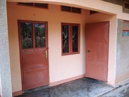 1 bedroom with a sitting room self contained house for rent at Garuga