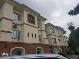 Brand new 5 bedroom triplex with fitted air-conditioners and 2 room bq