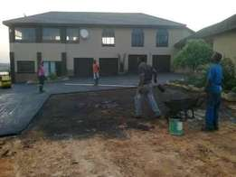 Smooth fine tar surfaces /driveways & parking areas.