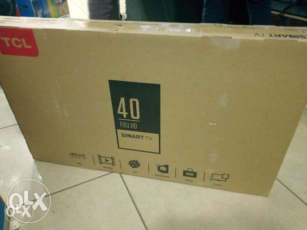 Tcl 40 inch digital tv with over 100 free to air channels Nairobi CBD - image 1