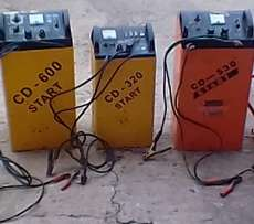 Heavy duty battery chargers.