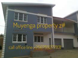 its 3 bed room house in Muyenga 2 in fence