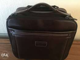Jekyll & Hide large leather business cabin trolley bag